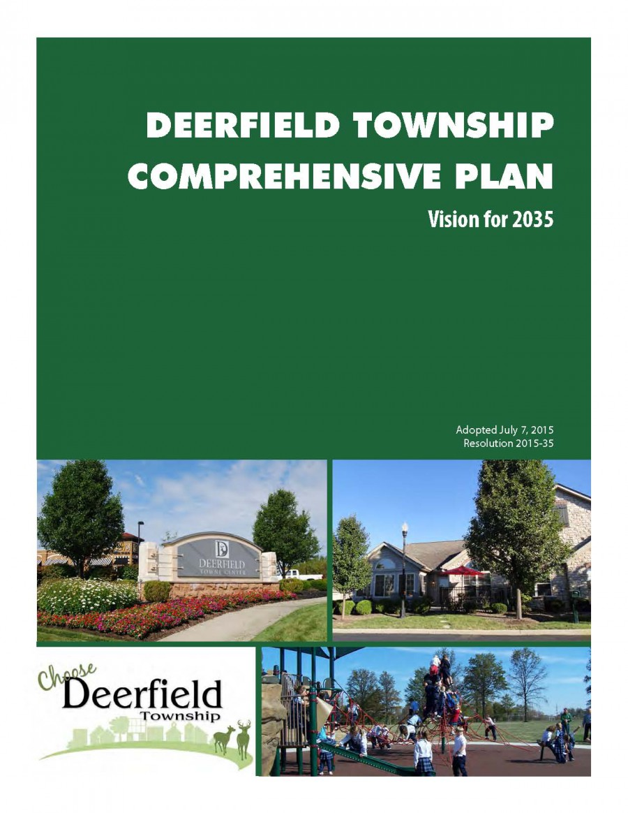 Deerfield Township Comprehensive Plan: Vision for 2035