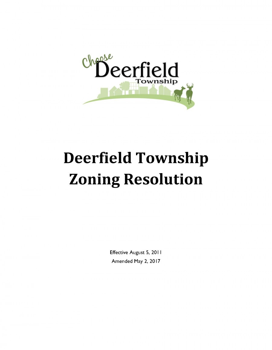 The Zoning Resolution