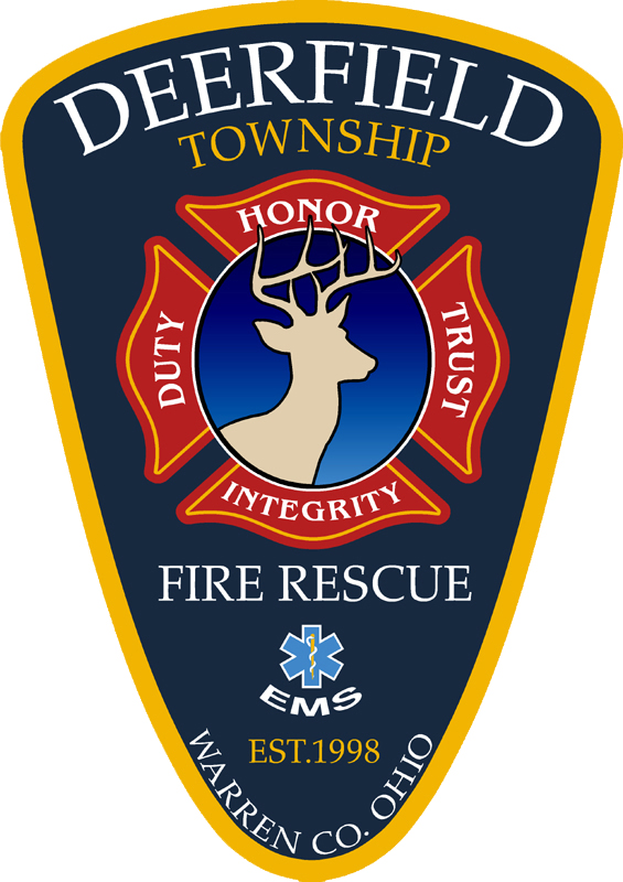 Deerfield Township Fire Rescue Logo