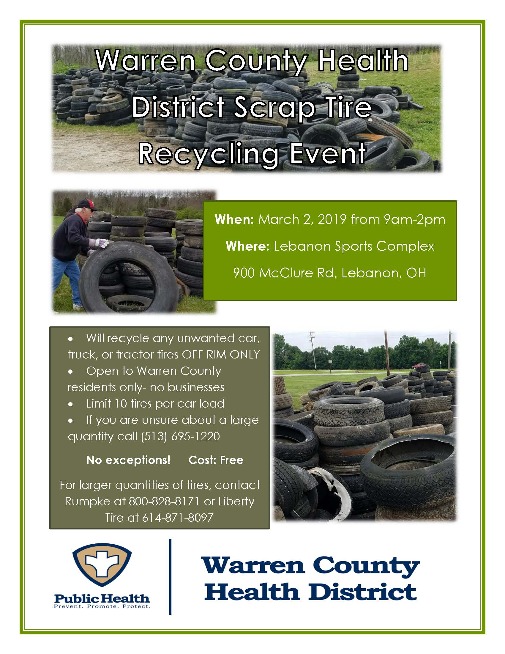 tire event flyer