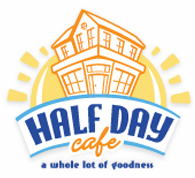 Half Day Cafe Logo