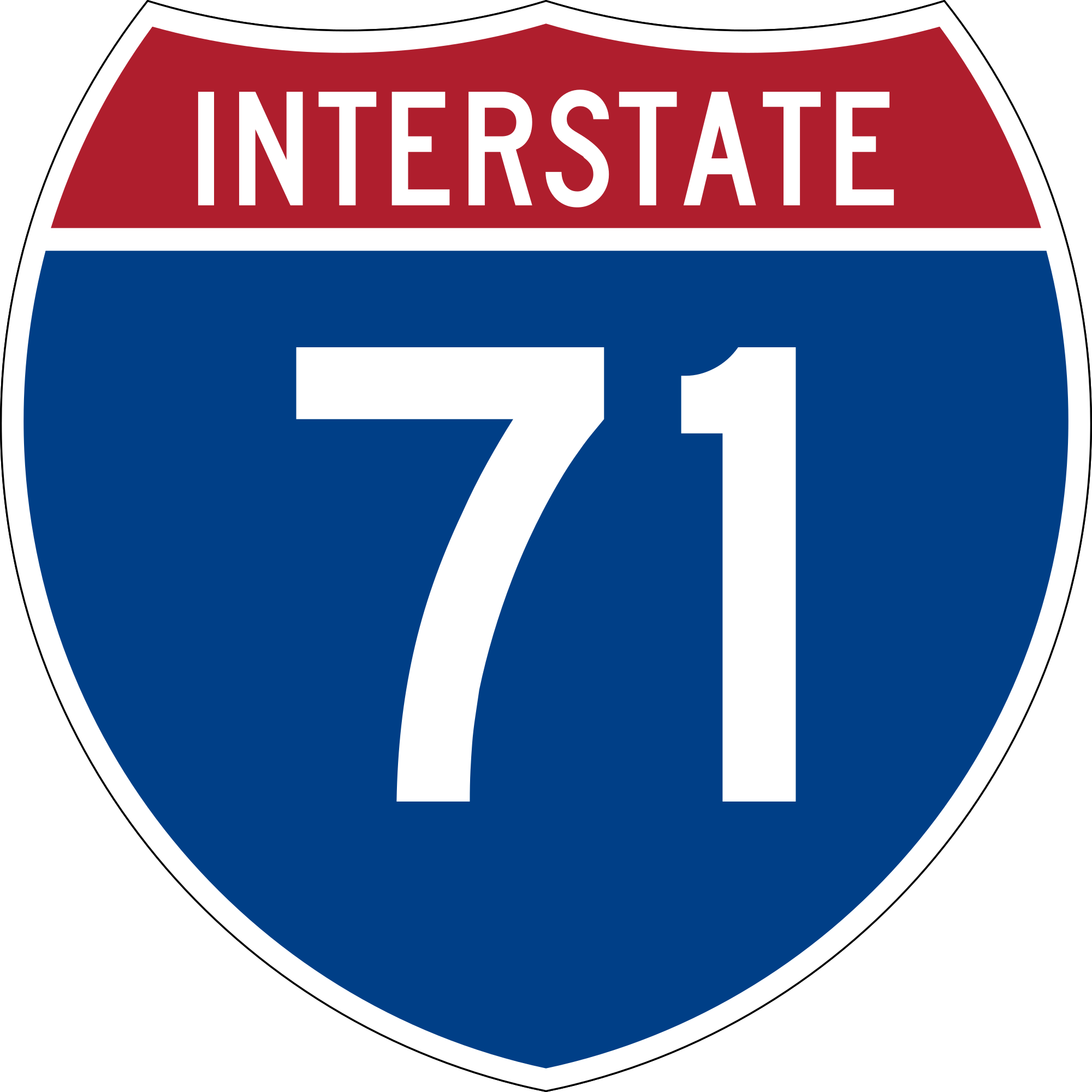 I-71 Road Sign